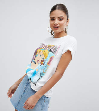 Missguided Cinderella Motif T-Shirt