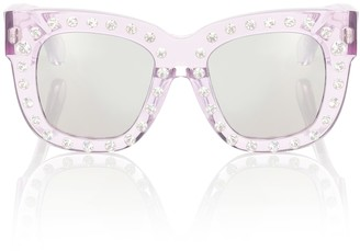 Acne Studios Library embellished sunglasses