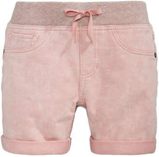 Vanilla Star Big Girls Denim-Look Knit Shorts