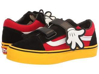 Vans Kids Mickey's 90th Old Skool V (Little Kid/Big Kid)