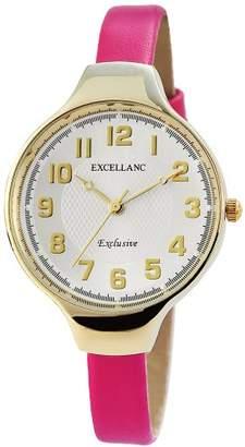 Excellanc Ladies'Watch XS Analogue Quartz 195002600164 Faux Leather)