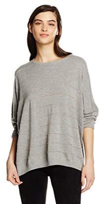 BOSS Women's Izusal Cardigan, Grey (Medium Grey), (LXL)
