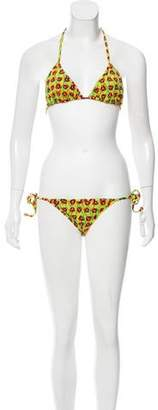 Bantu Printed Two-Piece Swimsuit