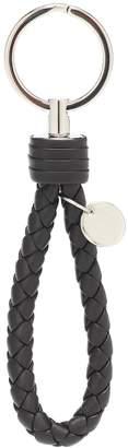 Bottega Veneta Intrecciato leather keychain