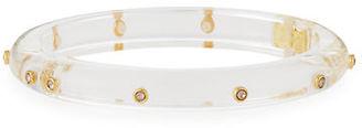 Alexis Bittar Neo Bohemian Crystal Rivet Bracelet $130 thestylecure.com
