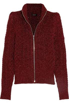 Isabel Marant Daley Cable-Knit Lurex Cardigan