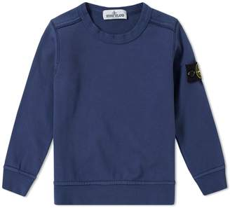 Stone Island Junior Garment Dyed Crew Sweat
