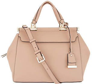 Vince Camuto Vince Camtuo Solid Leather Satchel - Carla