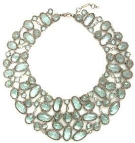 Jenny Packham Drama Torsade Crystal Bib Necklace
