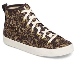 Keds R) x Rifle Paper Co. Queen Anne High Top Sneaker