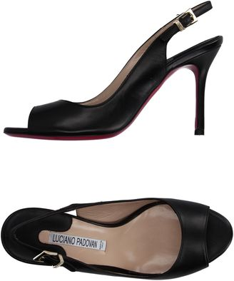 LUCIANO PADOVAN Sandals $226 thestylecure.com