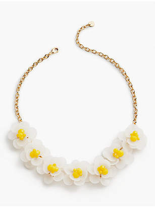 Talbots Flowers & Beads Necklace
