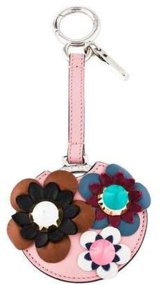 Fendi Flowerland Mirror Keychain