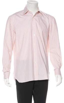Borrelli Striped Button-Up Shirt