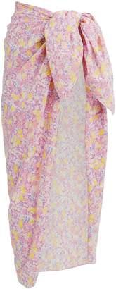 LoveShackFancy Noa Pareo Cover-Up Skirt