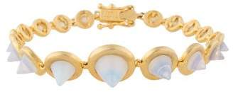 Eddie Borgo Glass Cone Bracelet
