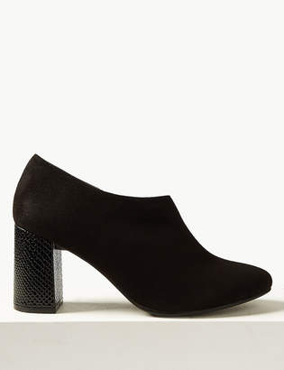 The Everywear Shoe BootMarks and Spencer Block Heel Shoe Boots with Insolia