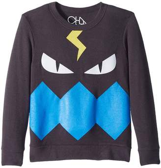 Chaser Kids Fleece Knit Monster Pullover Boy's Clothing