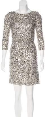 Alice + Olivia Silk Sequin Dress w/ Tags