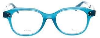 Celine Square Logo Eyeglasses w/ Tags