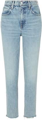 Alexander Wang Cropped Side-Zip Jeans