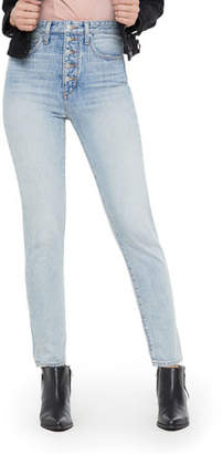 Joe's Jeans WeWoreWhat X Danielle High-Rise Vintage Straight Jeans