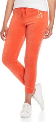 Juicy Couture Royal Foil Logo Velour Pants