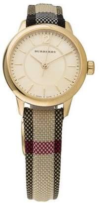 Burberry Swiss Honey Check Watch