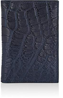 Barneys New York Men's Alligator Folding Card Case