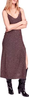 Free People Lola Glitter Maxi Dress