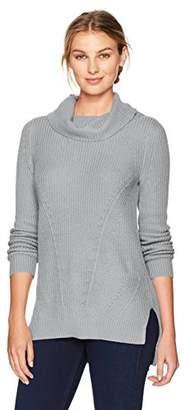Tribal Women's Cowl Neck Tunic Sweater