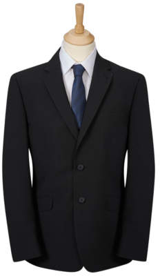 George Tailor & Cutter Black Regular Fit Suit Jacket