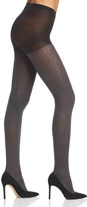 Hue Micro Cable Control Top Tights