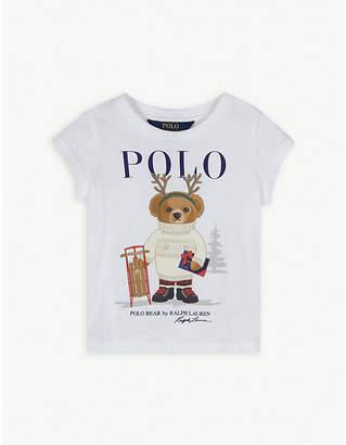 Ralph Lauren Winter polo cotton T-shirt 2-4 years