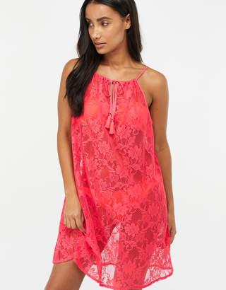 Accessorize Strappy Lace Dress