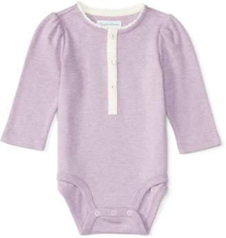 Ralph Lauren Baby Girl Henley Bodysuit