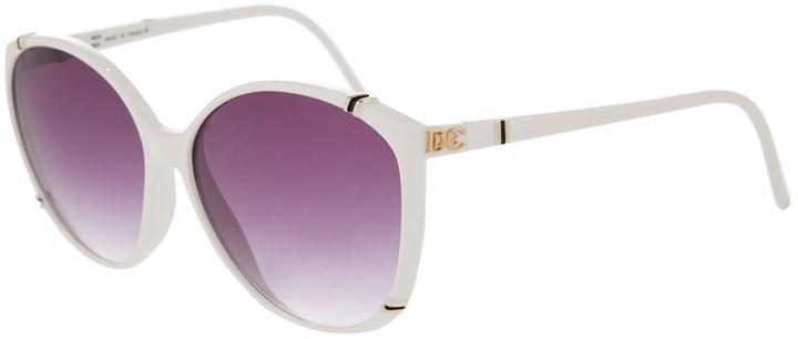 Diane De Carlo Vintage Vintage plastic sunglasses