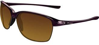 Oakley Women's Unstoppable Non-Polarized Iridium Rectangular Sunglasses