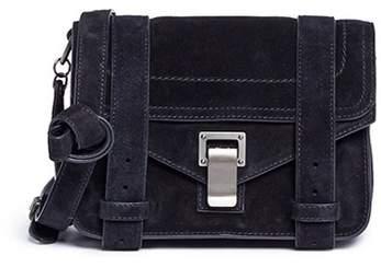 Proenza Schouler 'PS1' mini calfskin suede crossbody bag