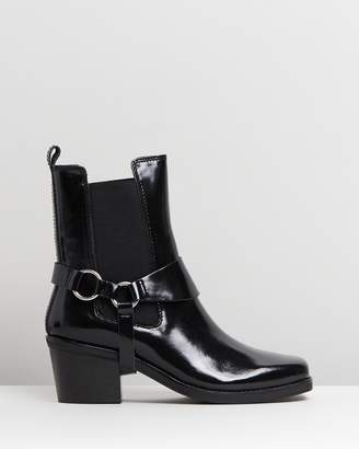 Mng Music Ankle Boots