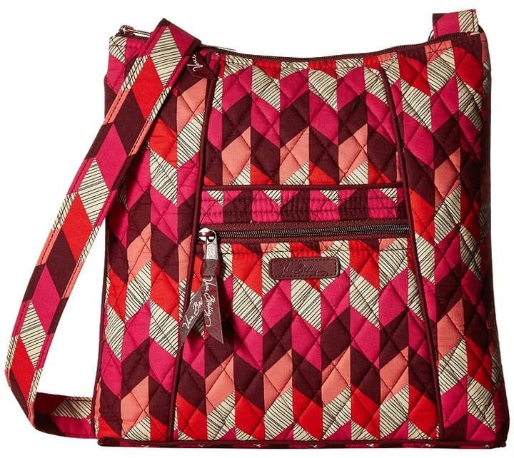 Vera Bradley Hipster Cross Body Handbags - BOHEMIAN CHEVRON - STYLE