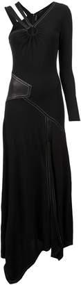 Yigal Azrouel asymmetric patchwork dress