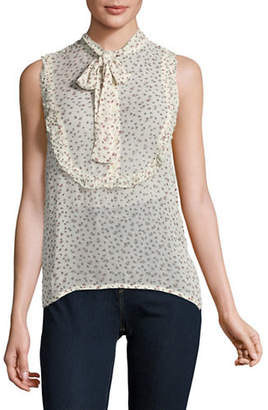 Denim & Supply Ralph Lauren Floral-Printed Tie-Neck Blouse