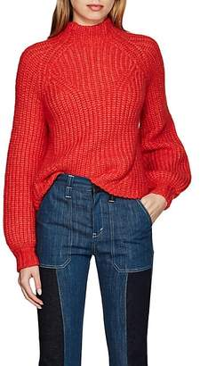 Ulla Johnson Women's Micha Rib-Knit Alpaca-Blend Sweater - Red