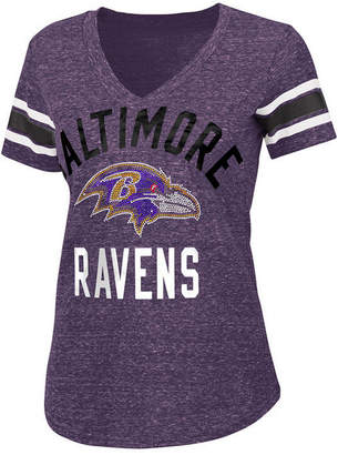G-iii Sports Women's Baltimore Ravens Big Game Rhinestone T-Shirt