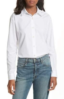 Kule The Hutton Cotton Poplin Shirt