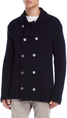 Jil Sander Double-Breasted Knit Sweater