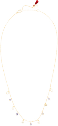 Shashi Disc Charm Necklace $79 thestylecure.com