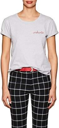"""Maison Labiche Women's """"Enchantée"""" Cotton T-Shirt"""