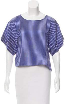 Tome Short Sleeve Striped Top